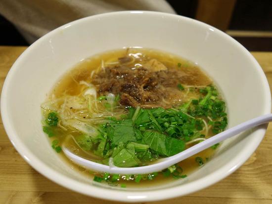 ノーマル牛骨麺