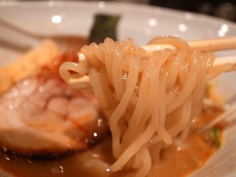 中華そばわさび(西武新宿)麺