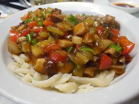 麺を使った料理@神田ガード下味坊