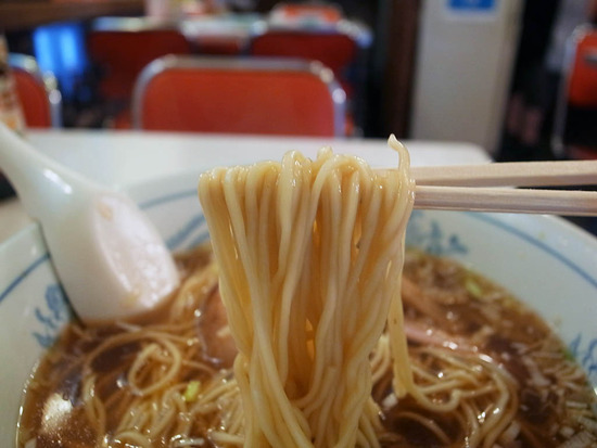 大勝軒の麺