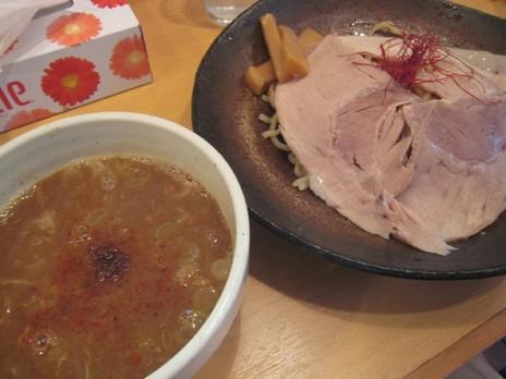 とろ肉つけ麺蔦八(小川町)とろ肉つけ麺