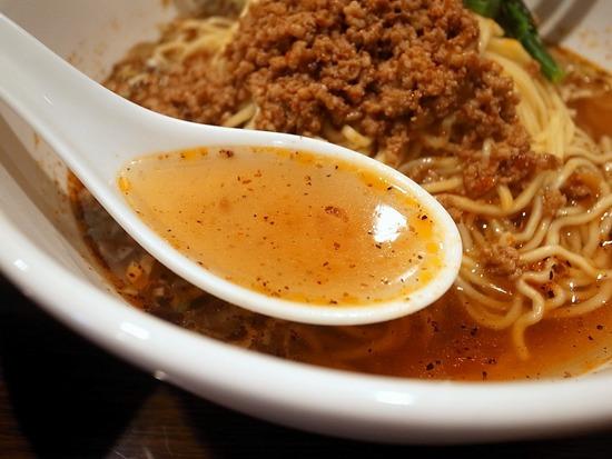 鴻運の担々麺スープ