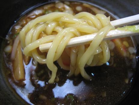 本格つけめんたれ蔵銀座店200808麺2