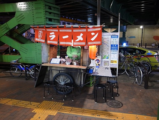 飯田橋駅前屋台