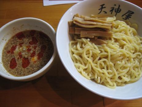 天神屋(御茶ノ水)200808冷やしごまつけ麺