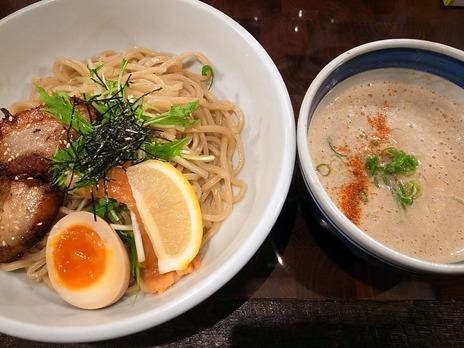 しゃけつけ麺(庄の@市ヶ谷)