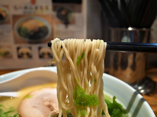 まる玉の麺