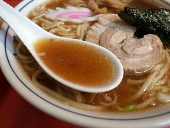 祖師谷大勝軒のスープ