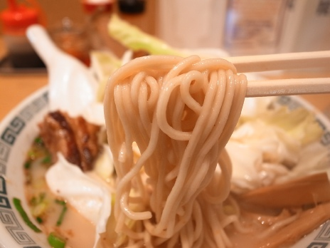 桂花ラーメン(新宿)麺