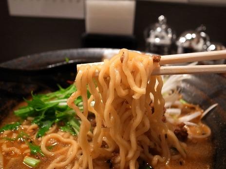 担担麺香氣@経堂の麺