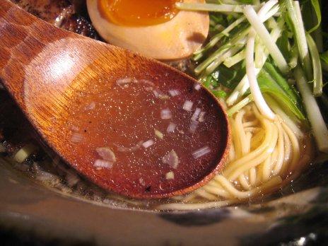 つけそば黒門(新宿西口)スープ