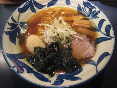 らーめん神田磯野(小川町)醤油らーめん+味玉