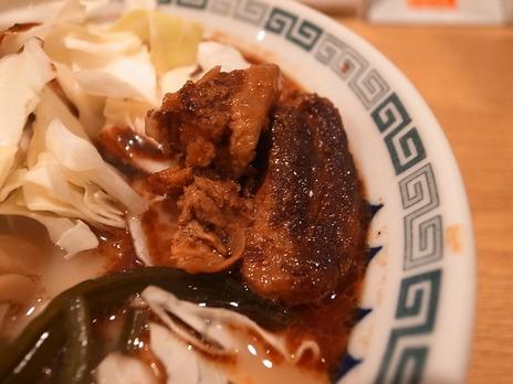 桂花ラーメン(新宿)角煮