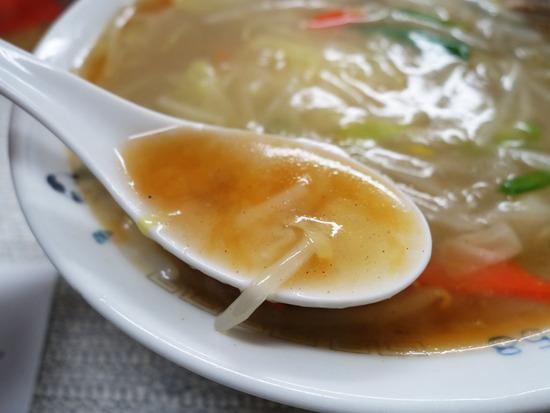 もやしラーメンのスープ