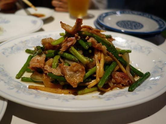 豚肉ニンニクの芽炒め
