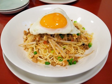 汁なし担担麺@養泰横浜中華街