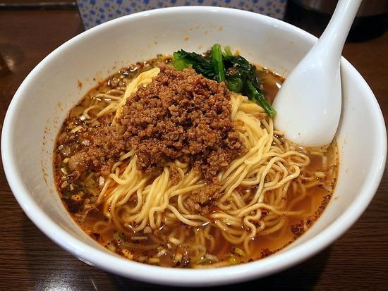 鴻運@飯田橋の四川担担麺