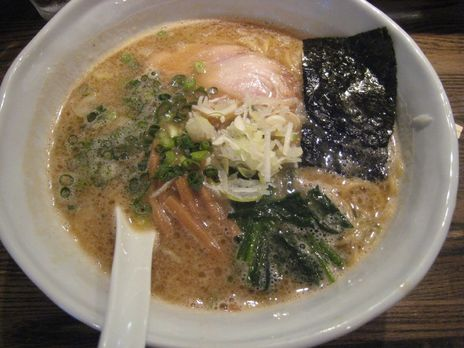RAMEN CiQUE(南阿佐ヶ谷)醤油ラーメン