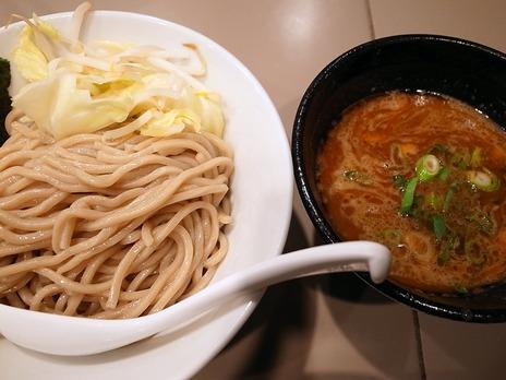 海老つけ麺@新宿五ノ神製作所