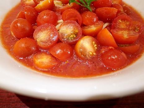 ドゥエイタリアン@市ヶ谷の冷製イタリア麺