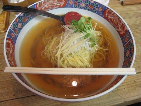 らあめん千ひろ(調布)鯛骨スープ麺2