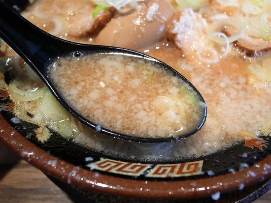 背脂醤油スープ