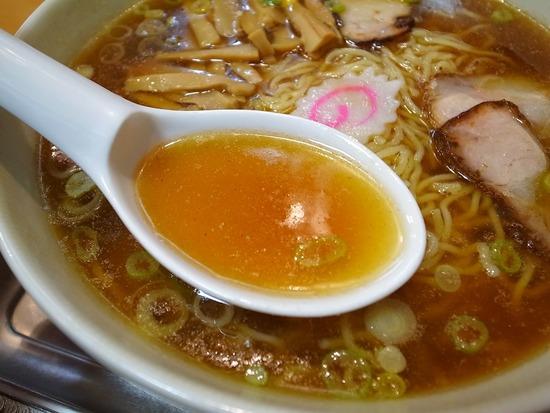 永福町大勝軒のスープ