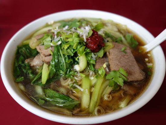 牛肉麺@龍門