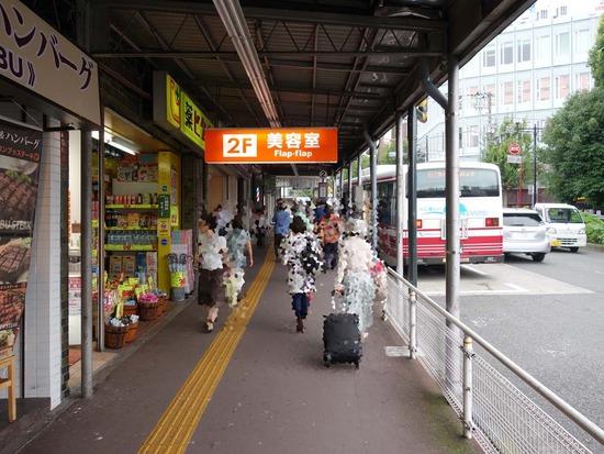 百合ヶ丘バス停前