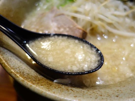 塩とんこつスープ