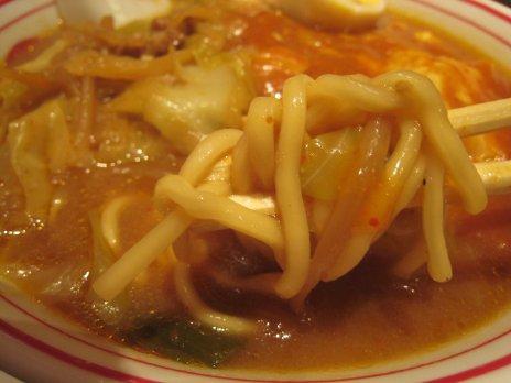 蒙古タンメン中本(御徒町)麺