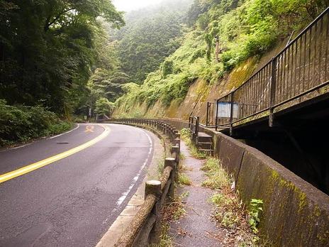 大垂水峠橋近く