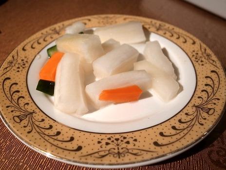 野菜の甘酢漬け@横浜中華街大珍楼