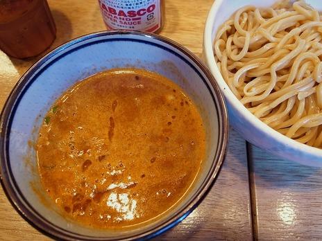 海老トマトつけ麺@麺風古都里