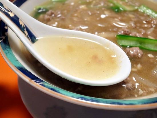 加里麺のスープ1