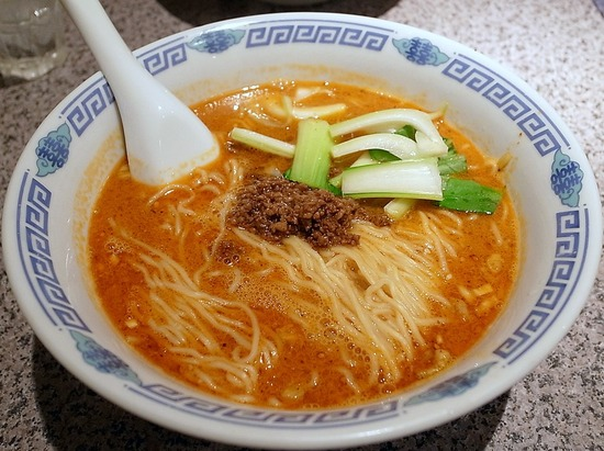 タンタン麺@梅香