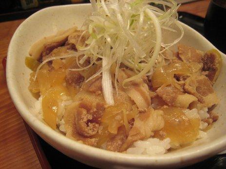 三亀勢(桜上水)豚丼2