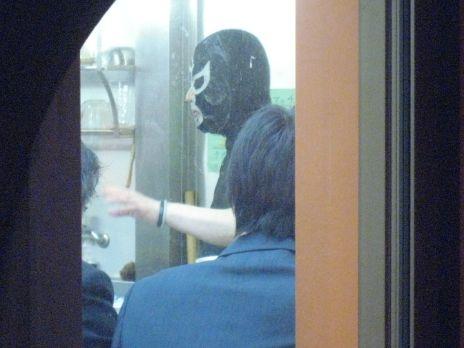 覆麺(神保町)黒覆面さん