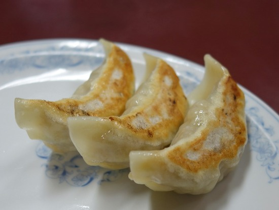 中本の餃子