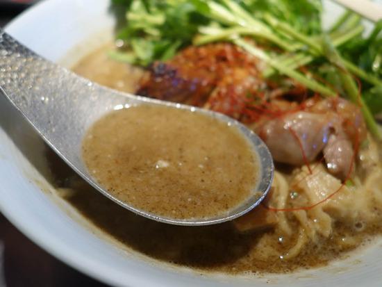 グリーンカレースープ