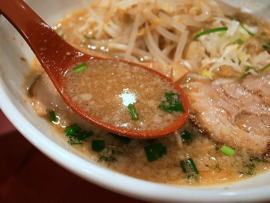 背脂味噌スープ