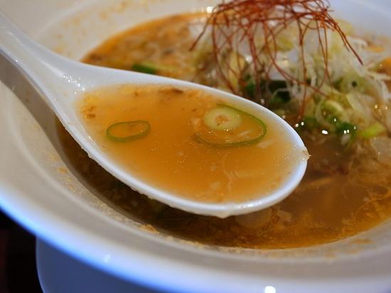 レモンラーメンのスープ