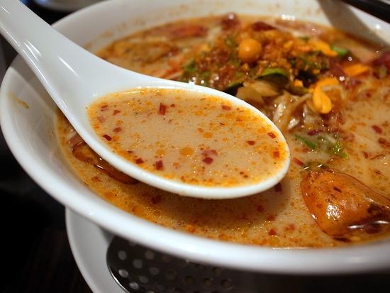 唐辛子担々麺スープ