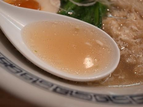 中華そばてんくう(田原町)スープ