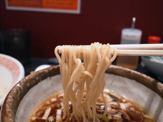 ポキポキ細麺