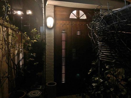 季織亭お宅入口