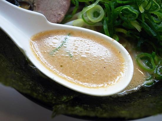 博多天神の味噌スープ