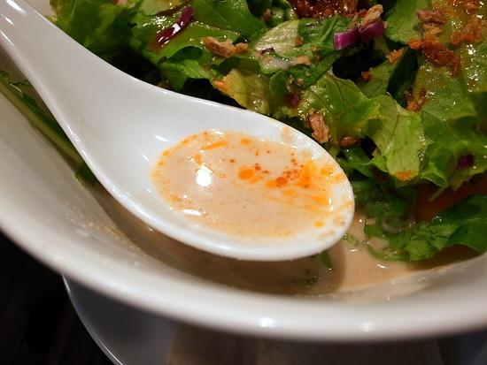 飯楽の豆乳タンタンスープ