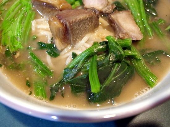 青菜レタス猪肉