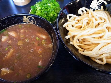 つけ麺(並)+ネギ増し@野方無極